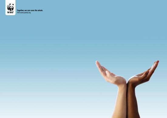 1 Природоохранная реклама от WWF