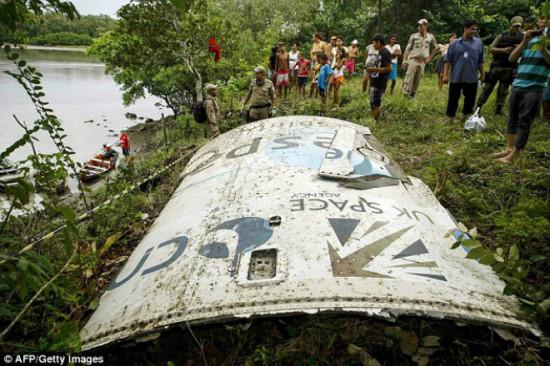 43acf42d 550x366 В Бразилии упал обломок космической ракеты