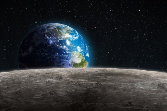 ef43937c 550x366 Голубая планета   вид из космоса