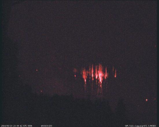 foto 3 550x440  Спрайты   самые крупные из высотных разрядов Земли
