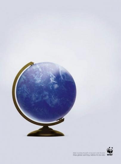 wwf 37 Останови глобальное потепление. Плакаты от WWF