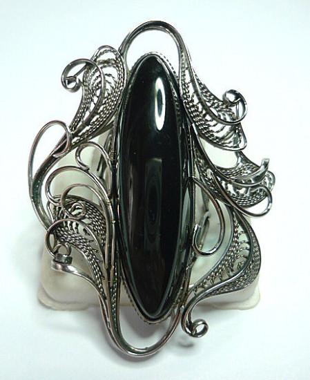 03d15233305 ukrasheniya koltso chernyj lebed obsidian n9294 449x550 Лечебные и магические свойства минералов. Часть 7