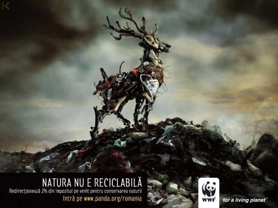 wwf 35 1 Социальная реклама за переработку отходов