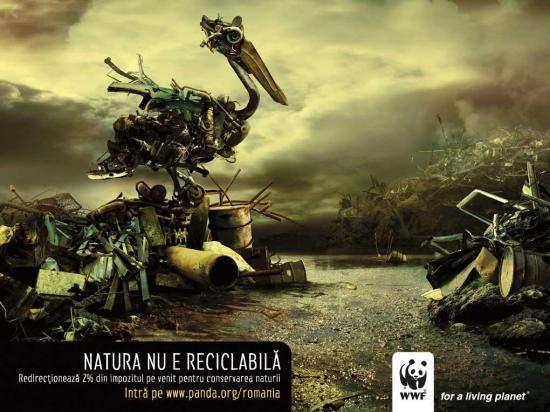 wwf 35 2 Социальная реклама за переработку отходов