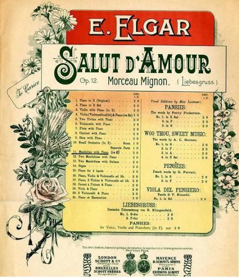 Salut dAmour by Elgar general cover 1899 472x550 Классическое настроение