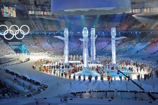 winter olympics vancouver opening03 550x366 Ванкувер