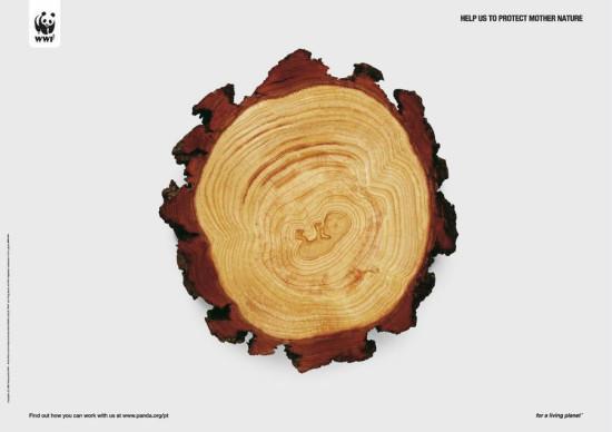 18 550x388 Экологическая реклама в плакатах от WWF