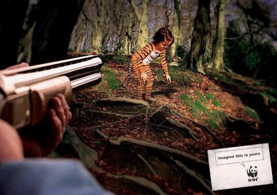 wwf 04 550x388 Жесткая экологическая реклама