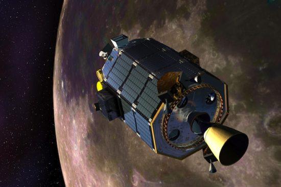 86cde52b 550x366 Космический зонд для исследования Луны