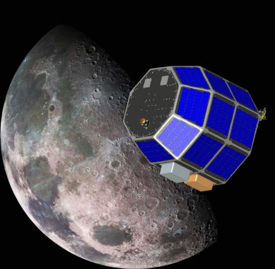 e128a29c 550x538 Космический зонд для исследования Луны