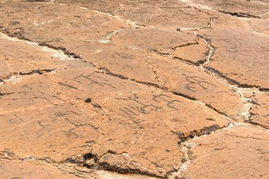 07 Petroglyph 550x367 Гавайские петроглифы   рисунки на камнях