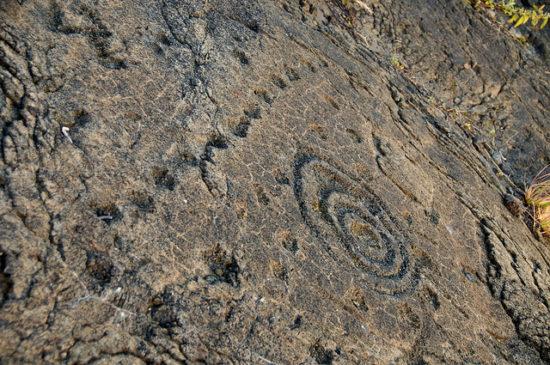 08 puuloa petroglyphs 550x365 Гавайские петроглифы   рисунки на камнях