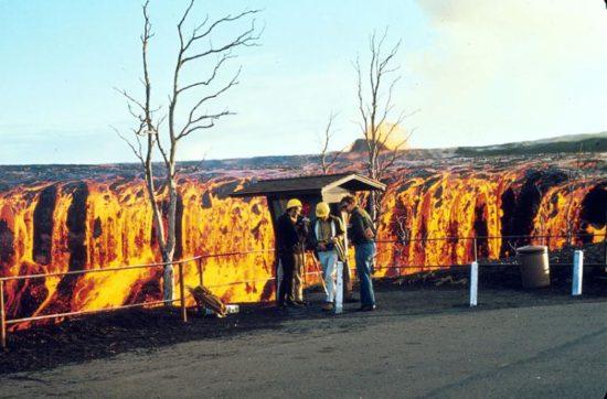vulkan kilaujea 14 550x362 Национальный парк Гавайские вулканы