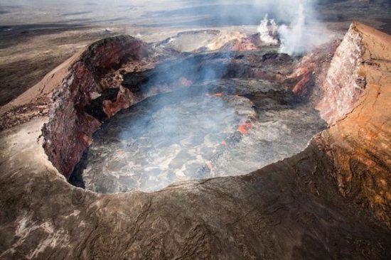 vulkan kilaujea 15 550x366 Национальный парк Гавайские вулканы