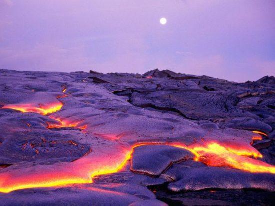 vulkan kilaujea 3 550x412 Национальный парк Гавайские вулканы