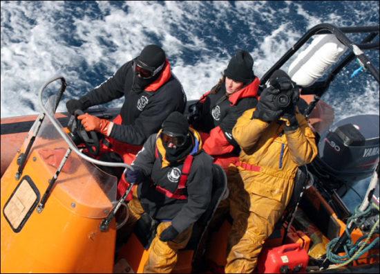 whale wars operator 550x396 Китовые войны   2 сезон