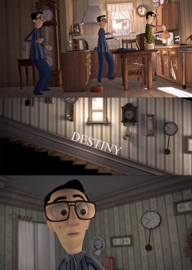 Destiny Short Movie 391x550 Судьба / Destiny. Мультфильм о судьбе и ее изменениях