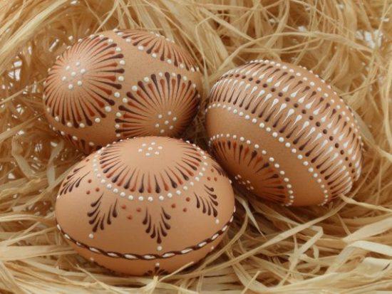 e828995ea53eeb11c5e8e386f70bcf60 550x413 Пасха и варианты пасхального украшения яиц