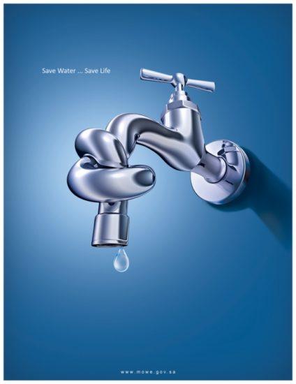 save water 1 by serso 0 424x550 Экологическая реклама   берегите воду, берегите жизнь!