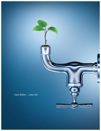 save water 4 by serso 0 424x550 Экологическая реклама   берегите воду, берегите жизнь!