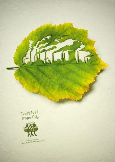 12 Plant for the planet 389x550 Экологическая реклама в защиту лесов
