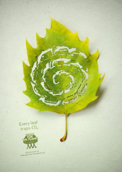 14 Plant for the planet 389x550 Экологическая реклама в защиту лесов