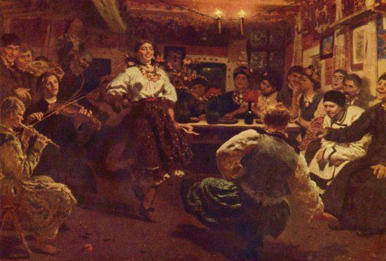 Ilja Jefimowitsch Repin 001 550x371 Посиделки   вечорницы