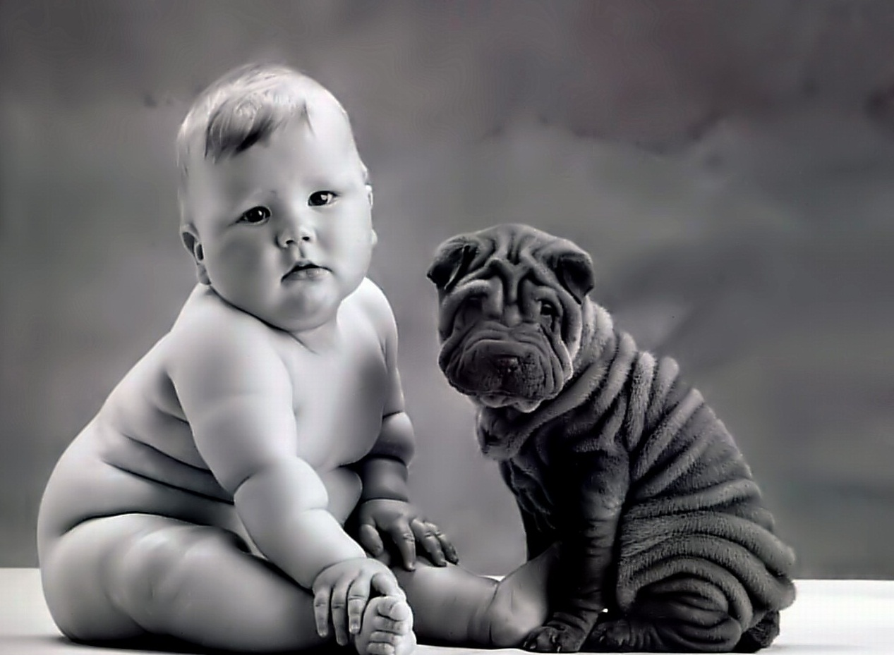 Прикольные картинки малышей до года