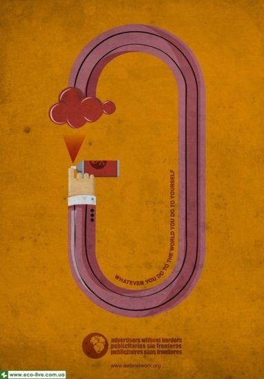 07   eco ads print 550 383x550 Экологическая реклама