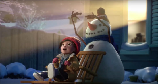 cineplex lily and the snowman 550x294 Лили и Снеговик (Lily & the Snowman)