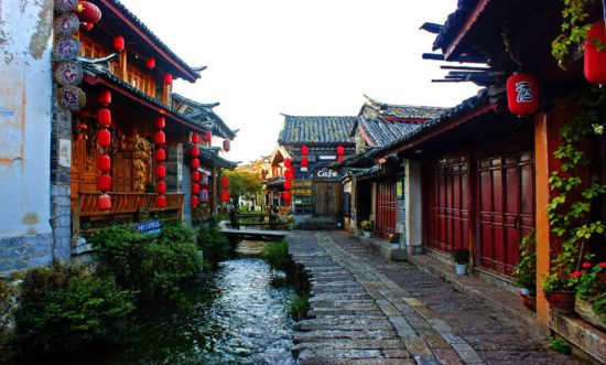 .jpg 550x331 Чем уникален китайский город Лицзян?