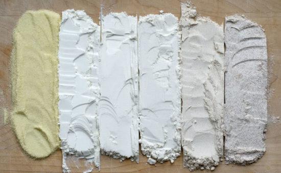 flour 1 550x338 Чим відбілюють муку, або ще одна причина, через яку хліб небезпечний для здоров'я