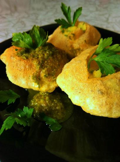 P70430 134001 408x550 Индийская кухня   пани пури