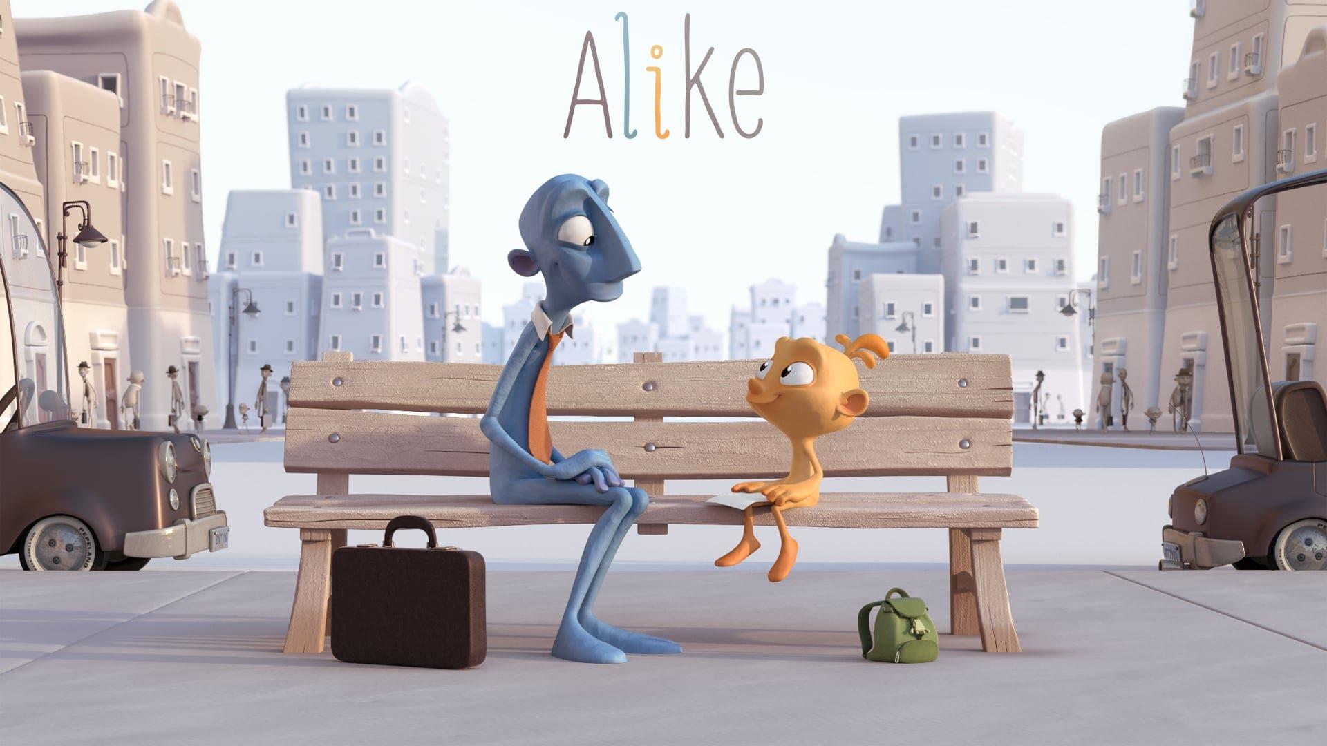 Alike — чудесный короткометражный мульт о родителях и детях